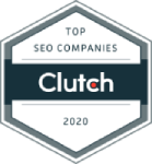 Top SEO companies Clutch.co 2020 LOGO